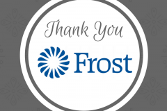 Thank you, Frost Bank!